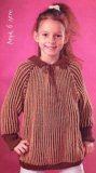 Пуловер для девочек