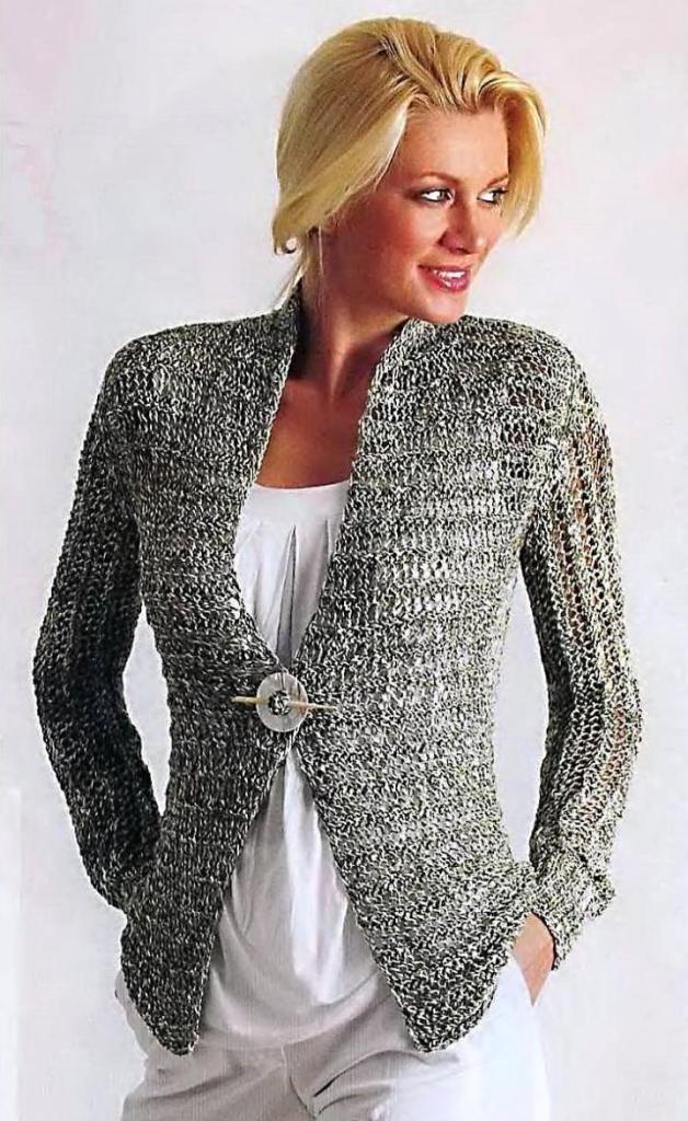 Модели вязания спицами и крючком для женщин Вязание спицами и крючком