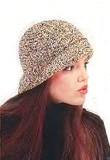 Женская шапочка крючком